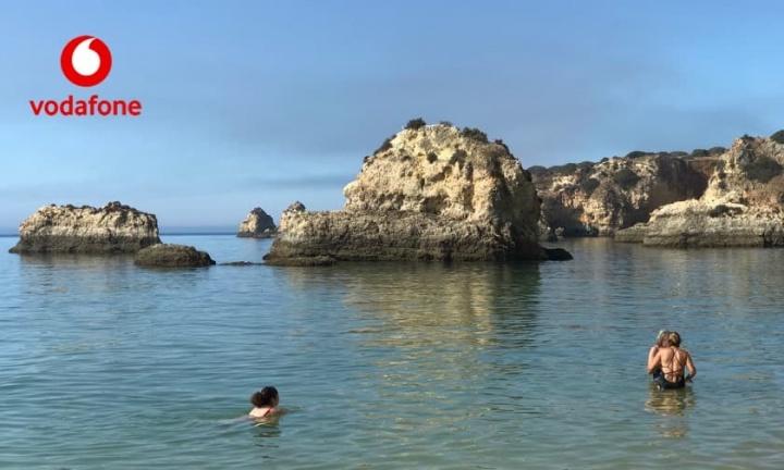 Praia em Directo: App da Vodafone com dados em tempo real de 186 praias