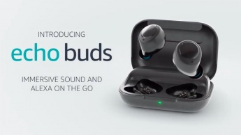 Amazon Echo Buds Alexa cancelamento ruído Bose Apple AirPods