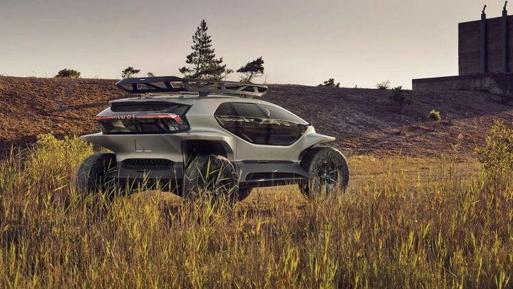 Audi AI:TRAIL - O carro 4x4 do futuro totalmente elétrico