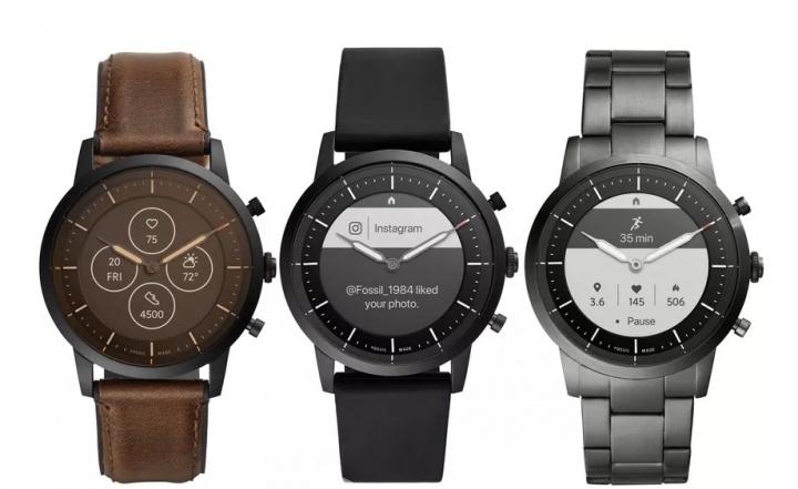 Fossil Collider DIANA Smartwatch Google híbrida WearOS