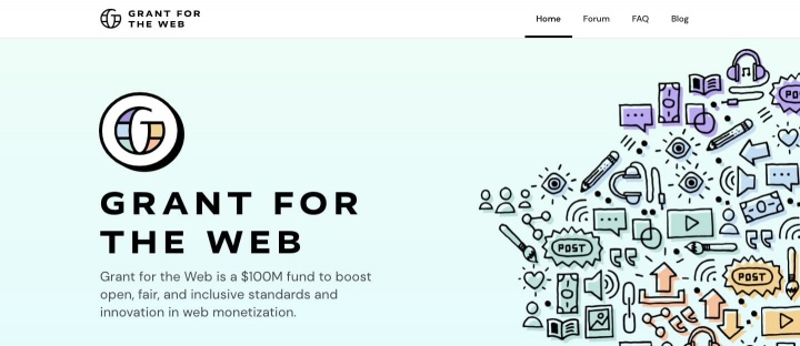 Grant for the Web Mozilla Coil Creative Commons Internet