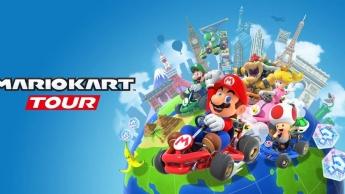 Mario Kart Tour Nintendo jogo Android iOS iPadOS