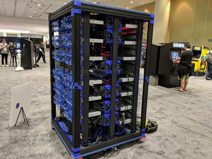 Oracle cria supercomputador com 1060 Raspberry Pi