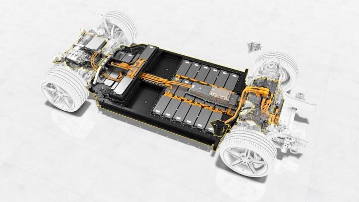 Porsche Taycan baterias