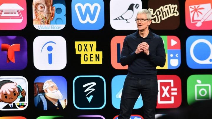 Apple App Store apps algoritmo pesquisa