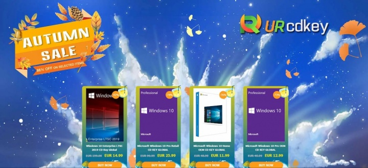 Office 2019 e Windows 10 pronto para download na URCDKey