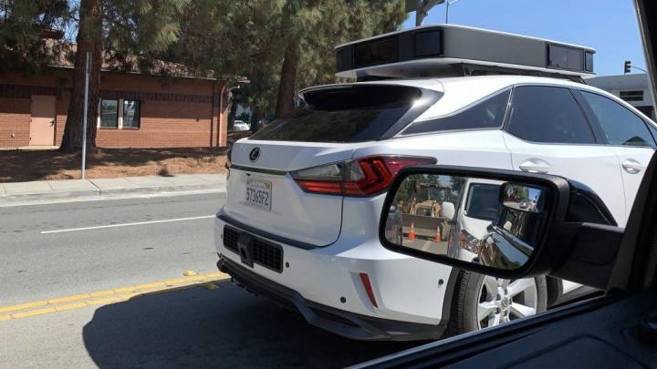 Apple carro autónomo imagens