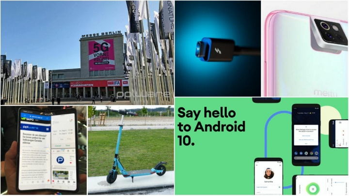 Destaques tecnológicos, Samsung, Xiaomi, Android, IFA