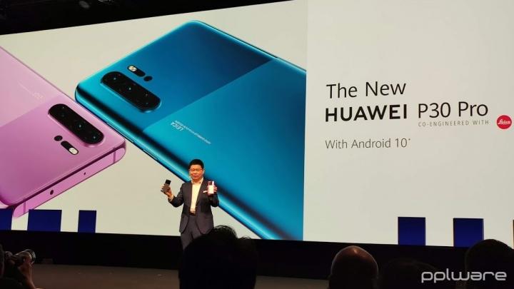 Chegou o novo Huawei P30 Pro... com Android 10