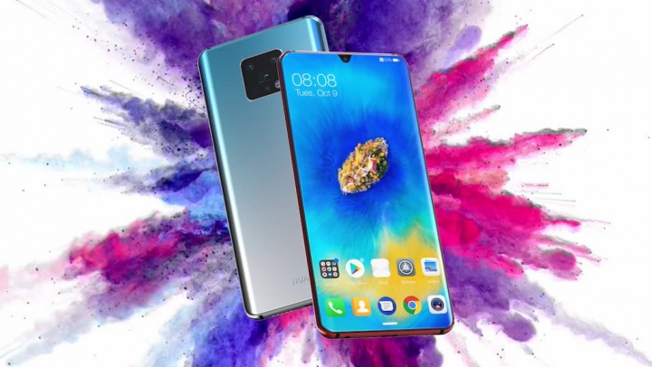 Huawei Mate 30 Pro com super, super, super Slow Motion
