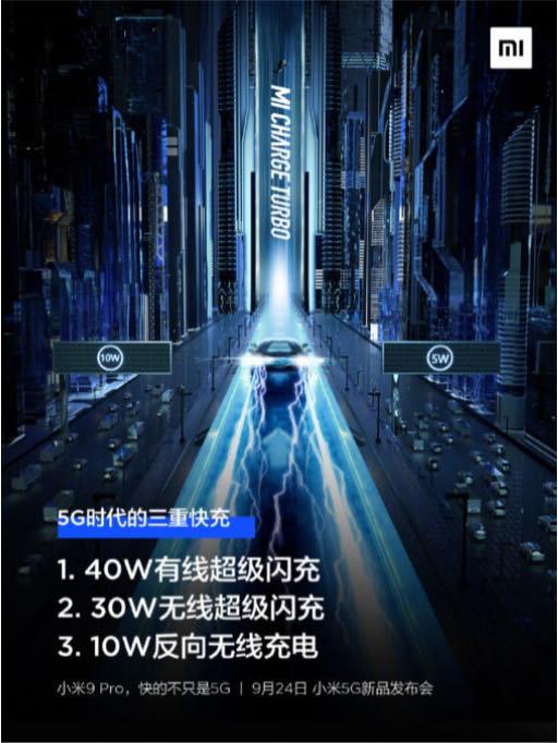 Xiaomi Mi 9 Pro 5G: Bateria a 100% em menos de uma hora