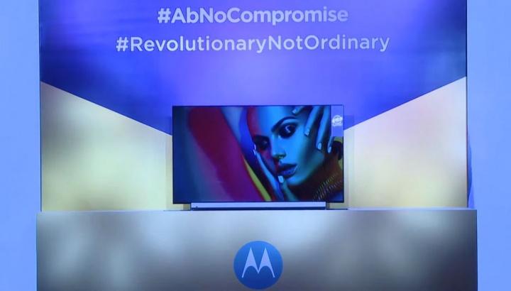 A corrida pelas smart TV - Motorola anuncia a sua Android TV