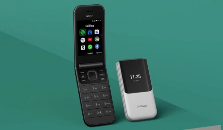 Icónico Nokia 2720 Flip vai chegar ao mercado por 89€ e com WhatsApp