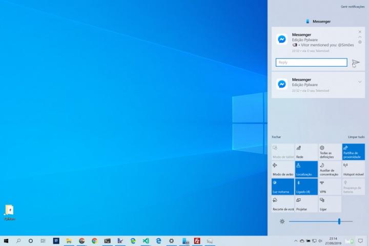 Windows 10 Android notificações Microsoft smartpphone