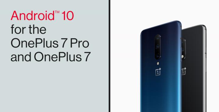 Android 10 já está disponível para OnePlus 7 / 7 Pro