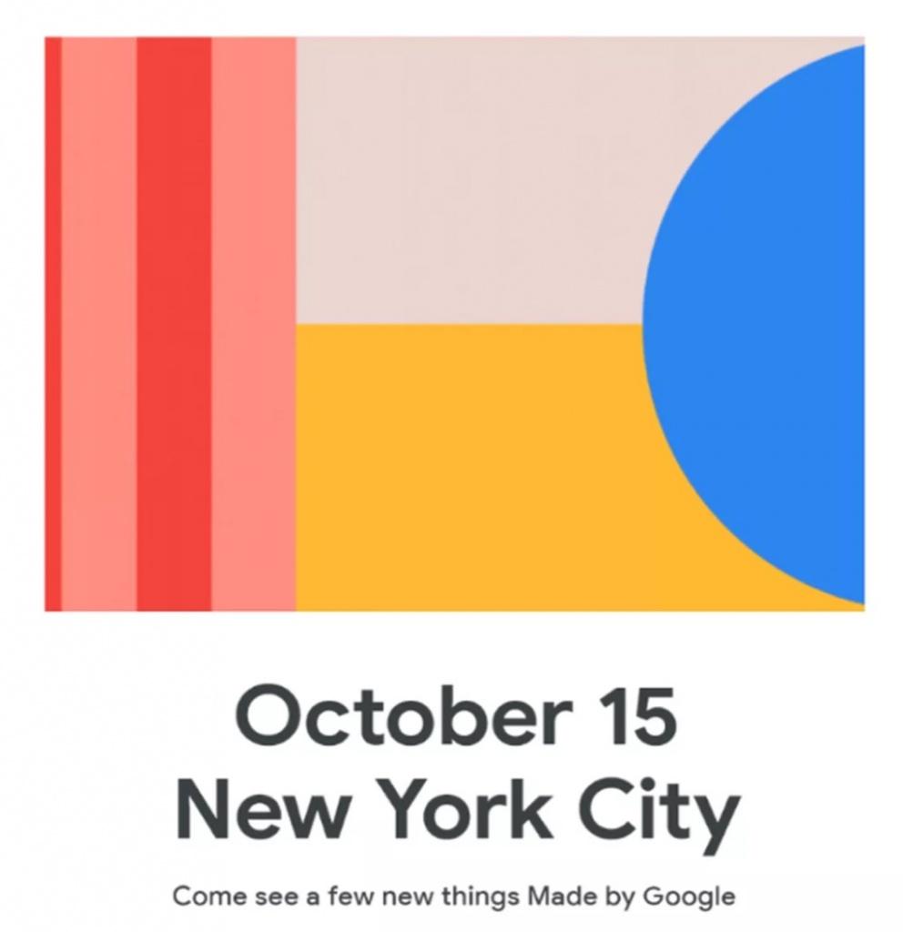 Google Pixel 4 lançamento novidades