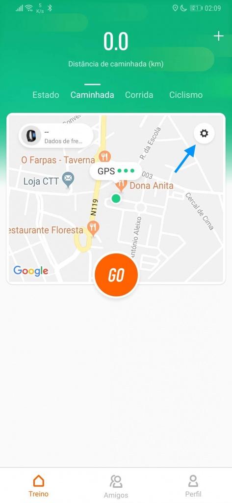Mi Band Xiaomi smartband ecrã ligad