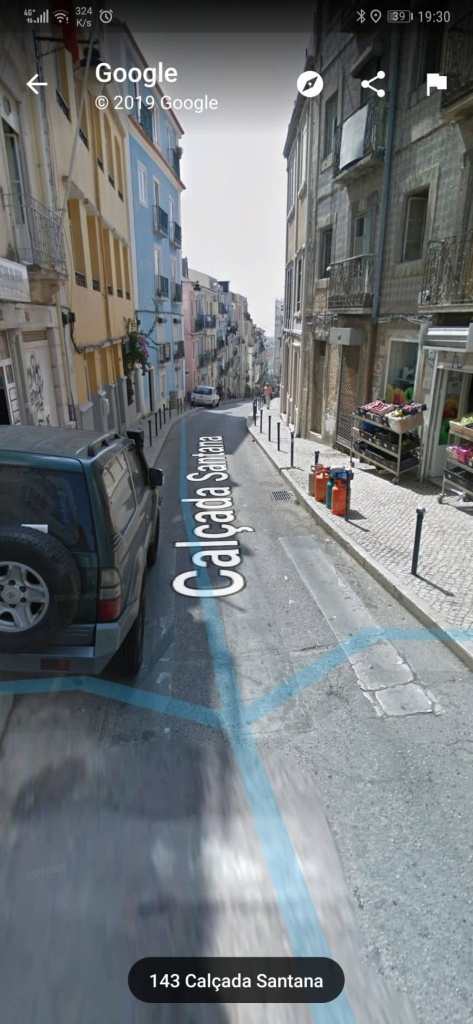 Google Maps Street View vista Android smartphone