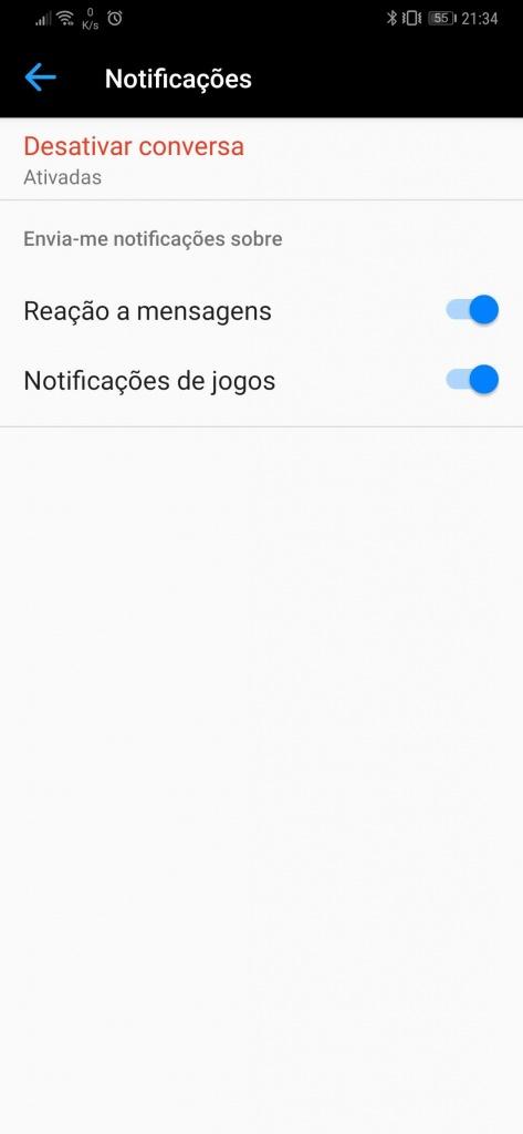 Messenger Facebook dicas mensagens conversas