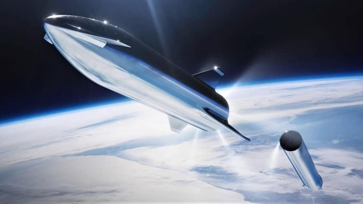 Elon Musk SpaceX Starship Terra Raptor