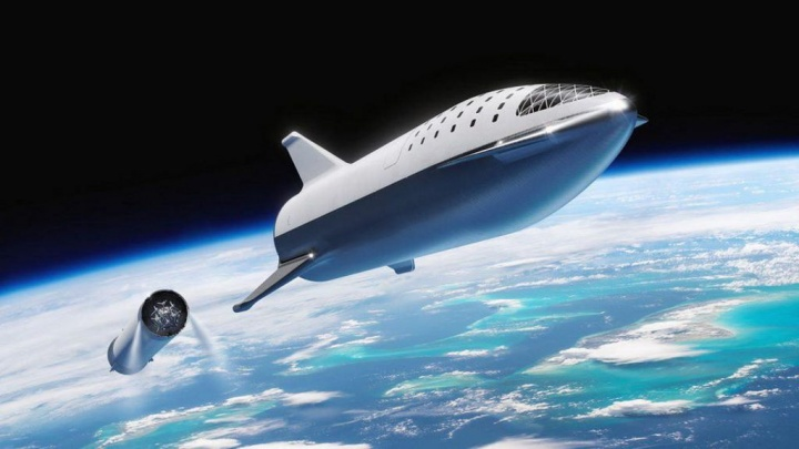 SpaceX Elon Musk Starship marte nave