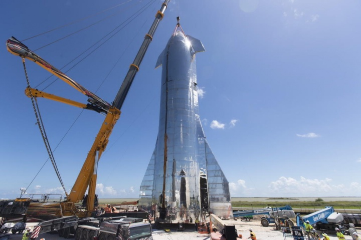 SpaceX Elon Musk Starship marte nave