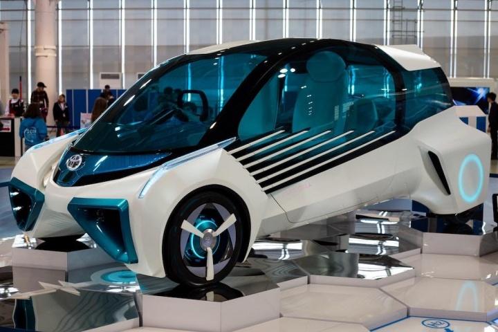 Toyota carro elétrico