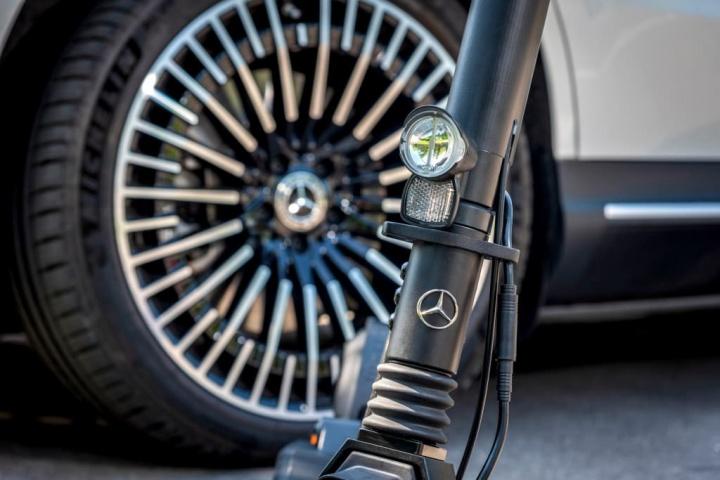 trotinete elétrica Mercedes Micro Salão de Frankfurt