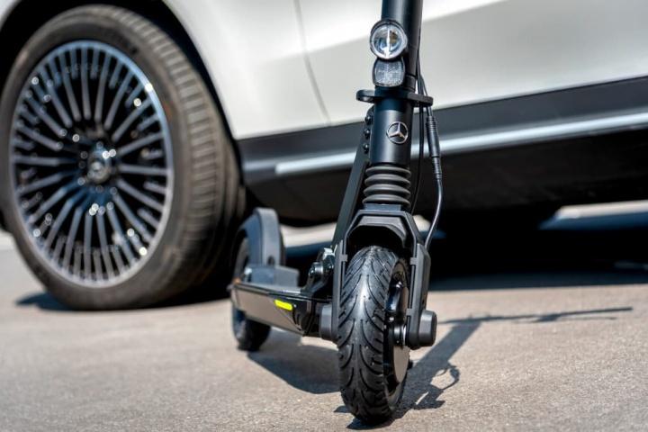E-Scooter trotinete elétrica Mercedes Micro Salão de Frankfurt