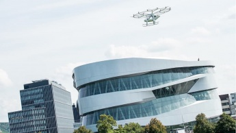 Volocopter táxi aéreo Daimler Estugarda