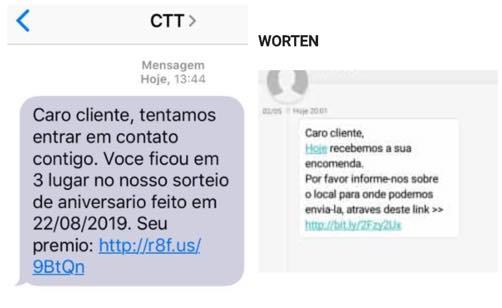 Portugal: Atenção às burlas que estão a chegar por SMS
