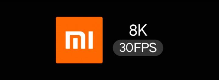Xiaomi 8K 30 fps vídeo câmara smartphone