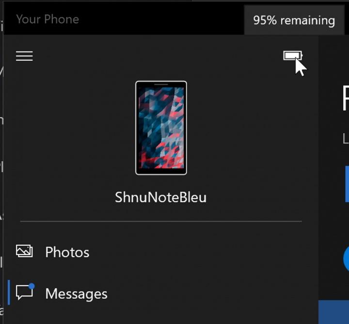 Windows 10 Android Microsoft bateria app
