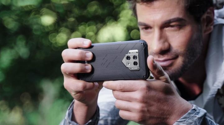 Chegou o primeiro smartphone Blackview com câmara térmica, o BV9800