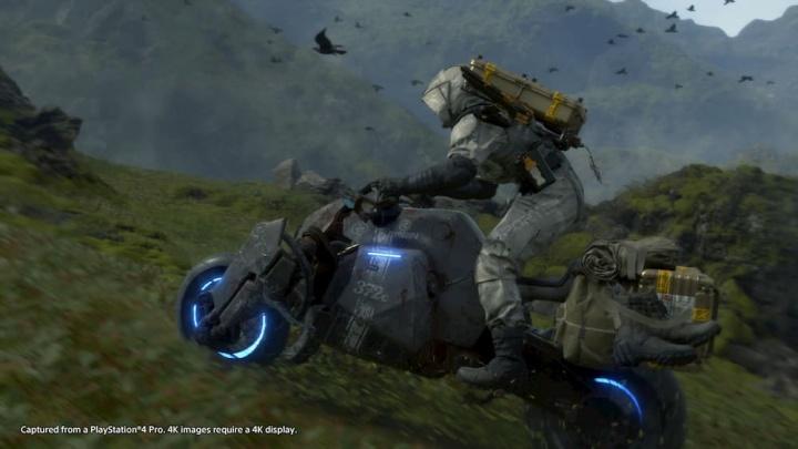 Death Stranding, um jogo na aceleração final para a PS4 com Pêpê Rapazote