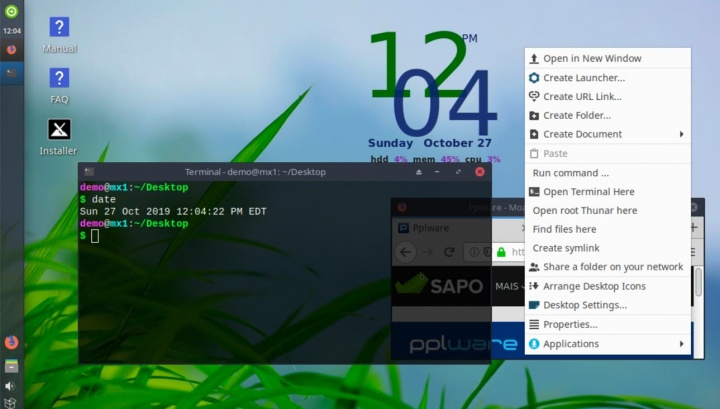 """MX Linux 19 """"patito feo"""""""