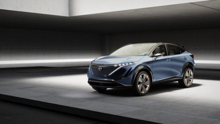 Nissan Ariya vem abrir uma nova era de design e performance nos seus carros elétricos