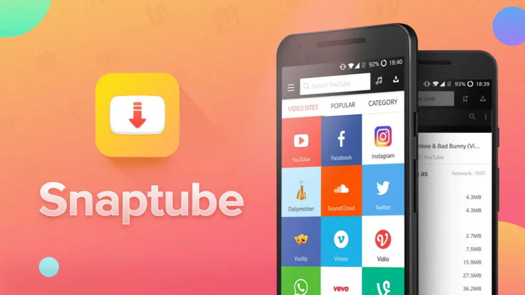 Snaptube Android smartphone security app