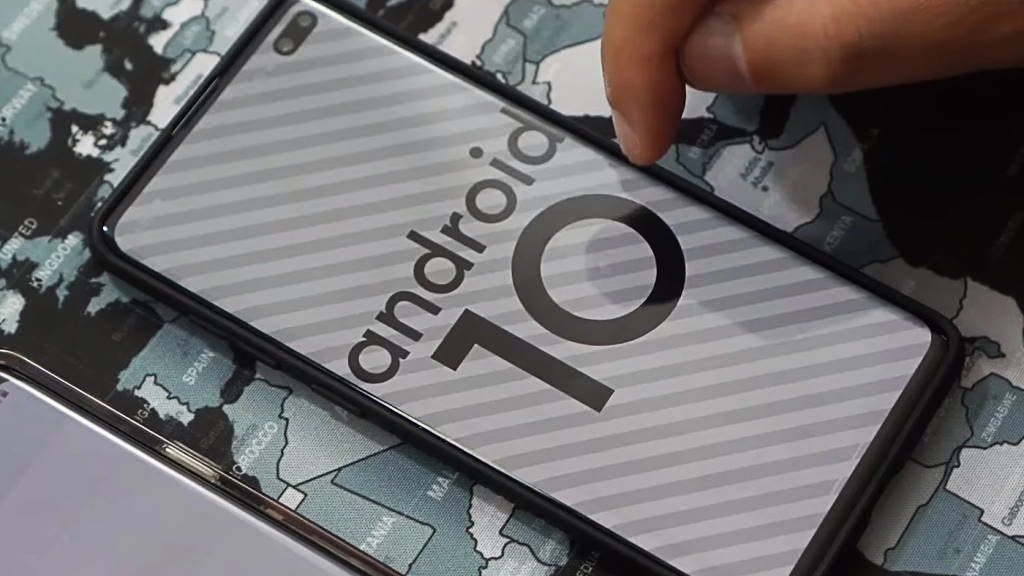 Android 10 smartphones Google fabricantes