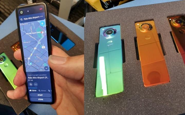 Misterioso smartphone... Será o novo Essential Phone?