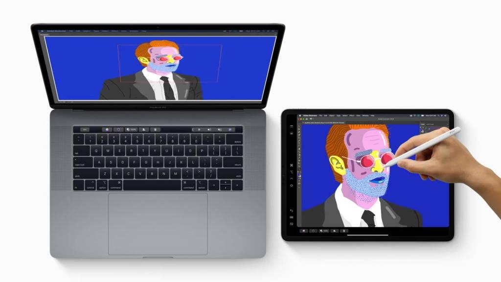 Sidecar iPad MacBook Apple monitor