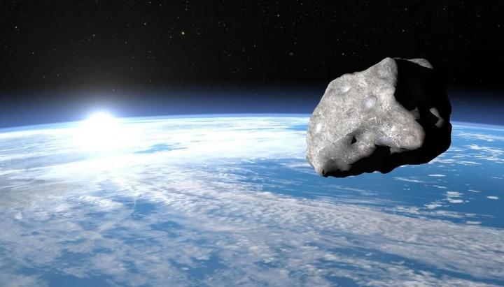 Imagem ilustrativa do asteroide 1998 HL1 potencialmente perigoso, segundo a NASA