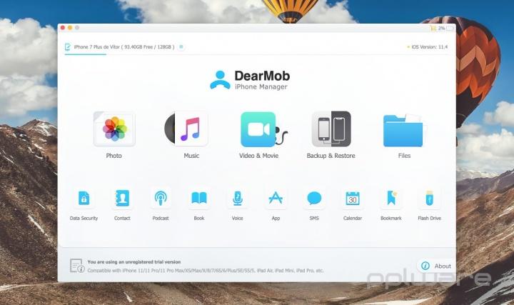 Acabe com as limitações na gestão do seu iPhone ou iPad com o DearMob iPhone Manager