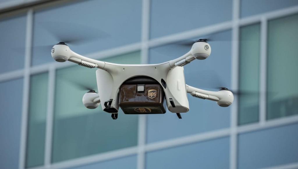 UPS tem luz verde nos EUA para operar frota comercial de drones autónomos