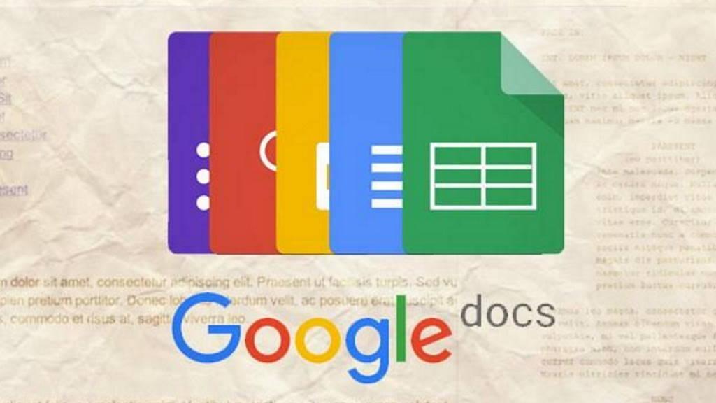 Google Docs atalhos documentos eventos