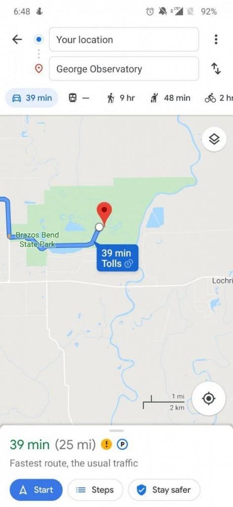 Google Maps utilizadores protegidos transporte