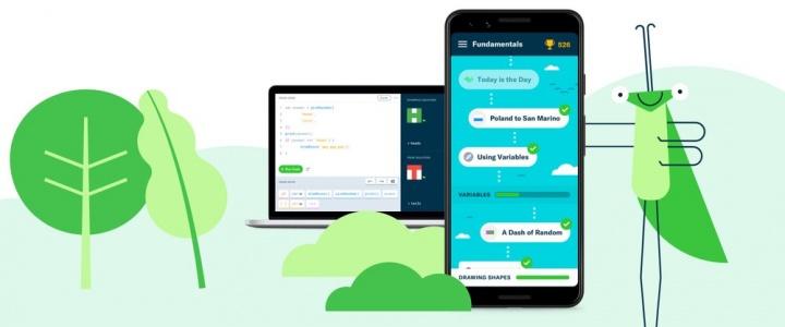 Grasshopper - Aprenda código com a Google, agora no desktop