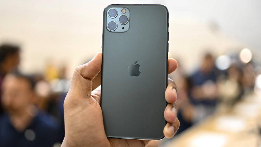Apple receitas iPhone serviços resultados