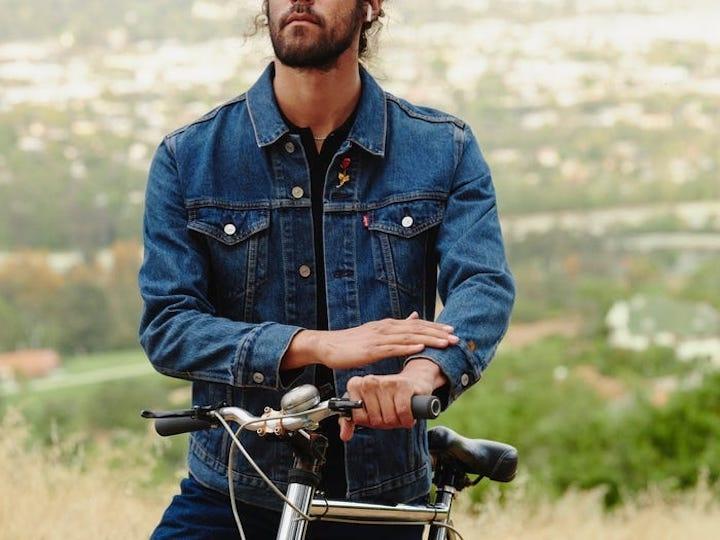 Jacquard Google Levi's casaco touchpad