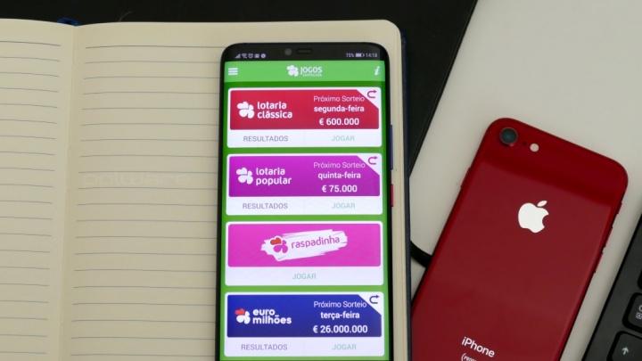 A sorte não escolhe lugar - Conheça a app dos Jogos Santa Casa - Euromilhões